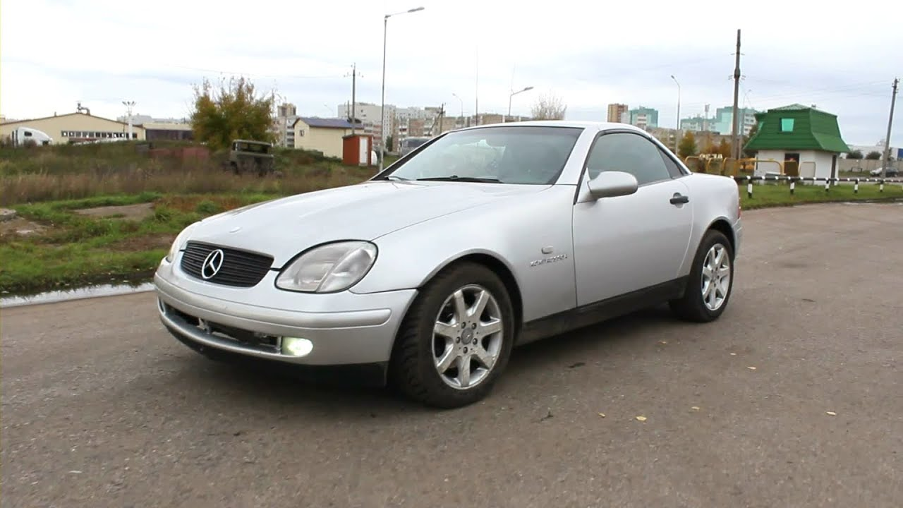 1998 mercedes benz slk 200 kompressor start up engine. Black Bedroom Furniture Sets. Home Design Ideas