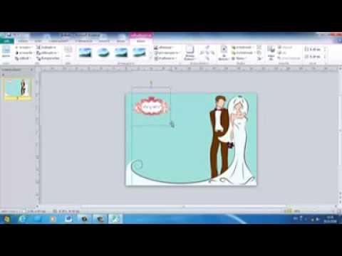 การทำโปสการ์ดด้วยโปรแกรม Publisher By Www.rayongall.com