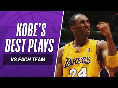 Kobe Bryant's BEST PLAY vs EVERY NBA TEAM In His Career!