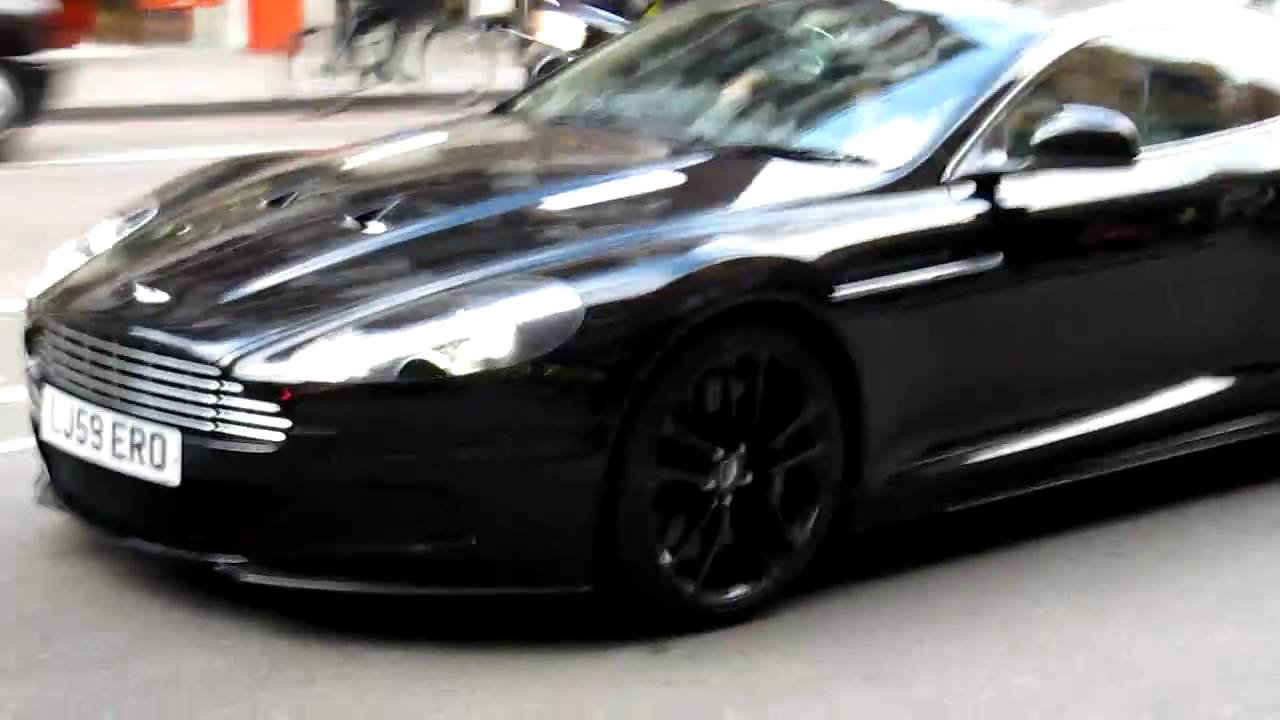 Aston Martin Dbs Black On Black London Hd Youtube