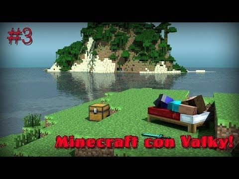 #3 Minecraft con Valky! – Pulizie di…priminverno! – Survival game w/ Ludox!
