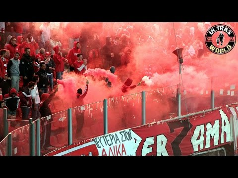 Ultras World in Athens & Piraeus - Olympiakos vs Panathinaikos (26.10.2014)