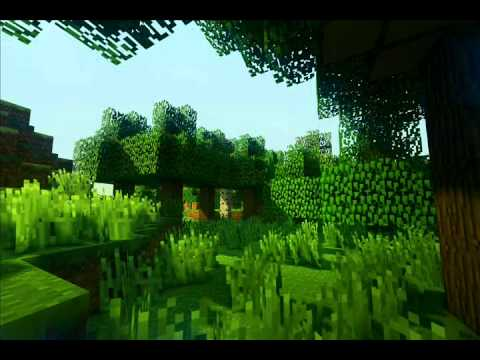 Minecraft: Sonic Ether's Unbelievable Shaders (waving grass and leaves WIP)