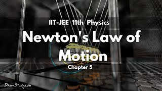 Newton's Laws of Motion for IIT-JEE Physics | CBSE Class 11 XI | Video Lecture in Hindi