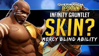 Overwatch Respawn #49 - Doomfist Infinity Gauntlet Skin? Mercy Flash Ability