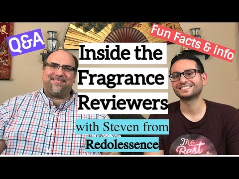 Q&A and Fun Facts plus an interview with fragrance reviewer Steven from Redolessence!
