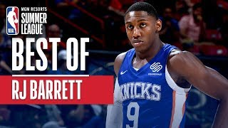 Best of RJ Barrett | MGM Resorts NBA Summer League