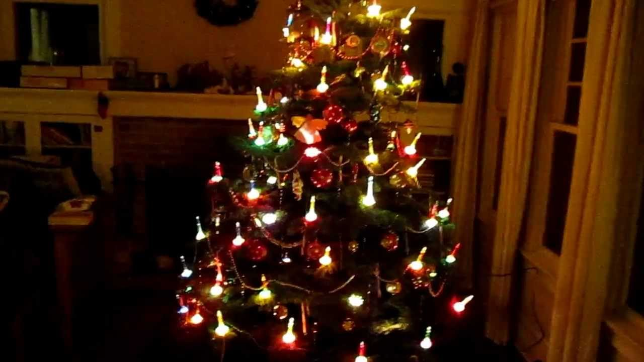 Vintage Christmas Bubble Lights