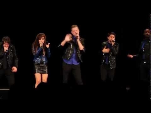 Pentatonix - telephone (lady Gaga Ft. Beyonce) At Laaf 2012 video