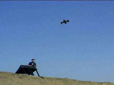 RC Car BIG AIR Part F'ing TWO!!! ~ Huge JuMpS&bAcKfLiPs_