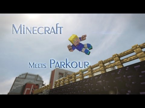 Mirror's Edge Mode - Minecraft Parkour Animation - FrediSaalAnimations