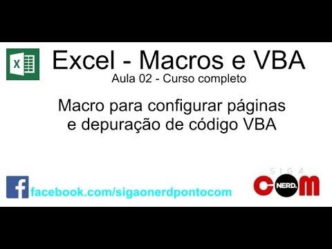 #02 - Macros e VBA - Excel - Curso Completo e Gratuito