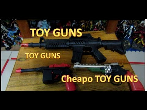 Fake small Cheapo TOY guns - TOY Video Review