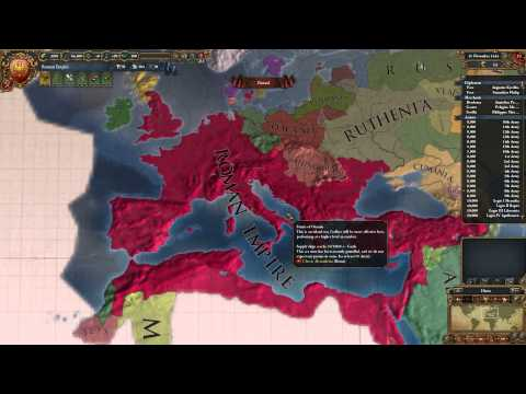 Europa Universalis IV - Roman Empire Crusader Kings II Port = Overpowered