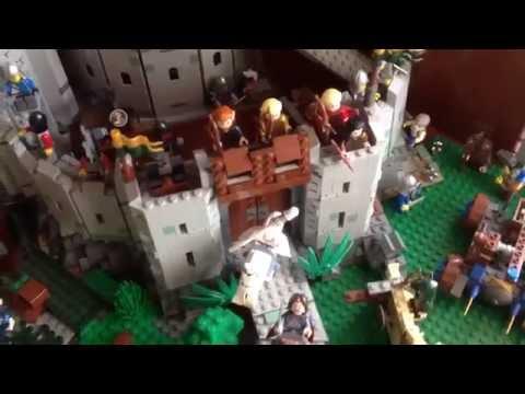 Моё Возрожденное Фентези Лего Королевство! (Castle, LOTR, Hobbit) Review (обзор)