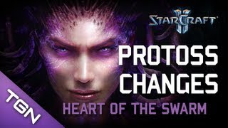 ★ StarCraft 2 - Heart of the Swarm Protoss Changes!