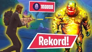 FORTNITE Zombie KILLREKORD Challenge!