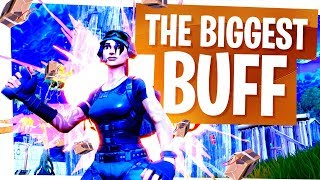The Biggest Unknown Buff in Fortnite - New Strongest Splode
