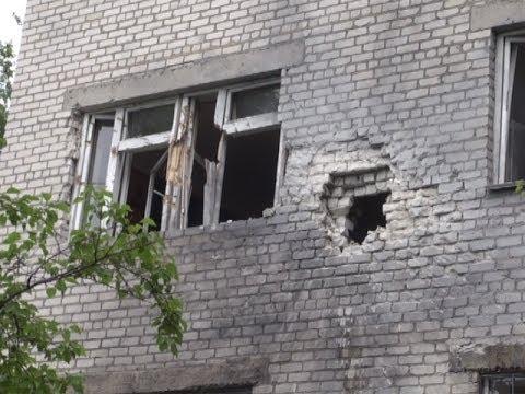 В деревне Семеновка Славянского района снаряд угодил в психиатрическую больницу