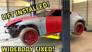 Auction Drift Car Gets Widebody Repaired!!!