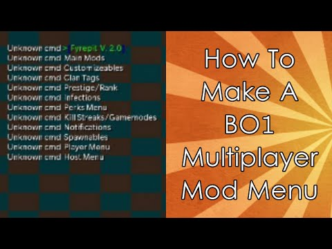 How To Make A Black Ops Multiplayer USB Mod Menu for Xbox - EASY!