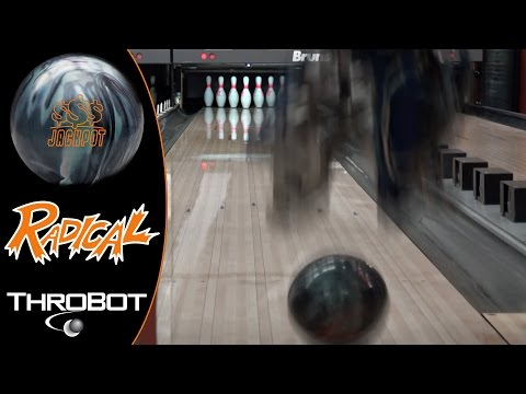 Radical Bowling - Jackpot // Throbot Ball Review // URD 04-12-16