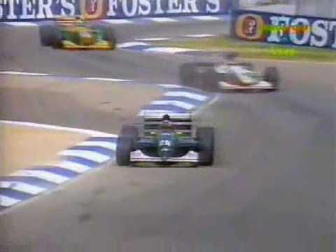 Wendlinger_Australia_1993_Race.wmv