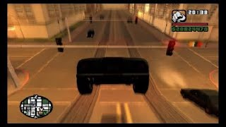 Grand Theft Auto: San andreas  S2E11 driving around LS and SF and getting Hit by morons on the fW