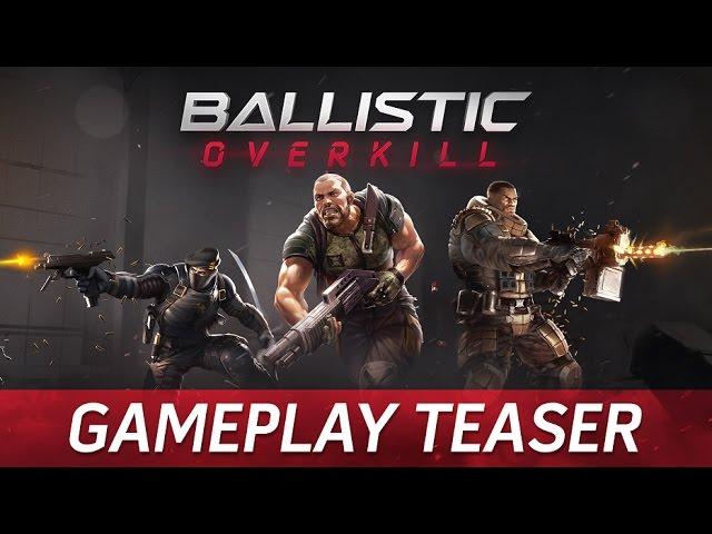 Руководство запуска: Ballistic Overkill по сети