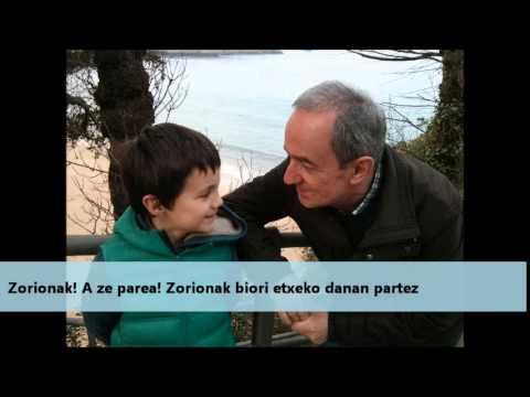 Zorion agurren bideoa-martxoak 27
