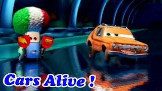 Cars 2 game play - 2 Player Split Screen 06