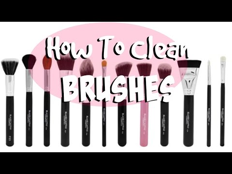 How To Clean Your Brushes | TheMakeupChair