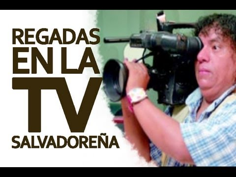 CAGADAS EN TELEVISION SALVADOREÑA (BLOOPERS)
