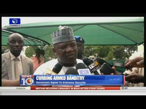 News@10: Lagos State Task Force Arrest 233 People 23/08/15 Pt. 3