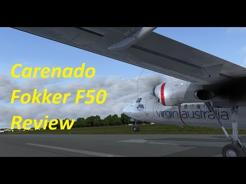 Carenado Fokker F50 - Review and thoughts | FSX | P3D