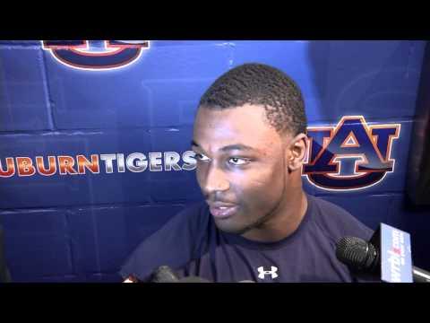 Auburn CB and kick returner Chris Davis