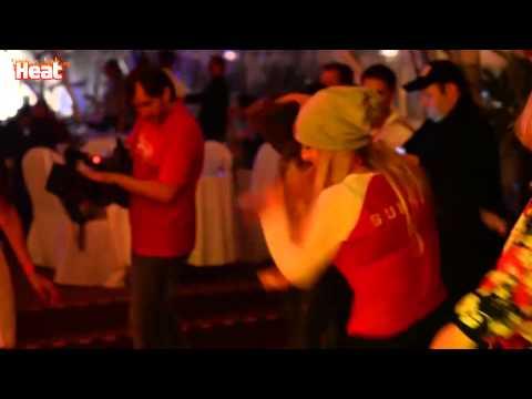 Екатерина Варнава устроила бразильские танцы на вечеринке в Юрмале