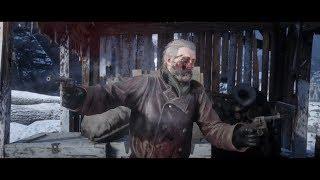 Red Dead Redemption 2 - John Marston Kills Micah Bell Ending (Headshot Kill)