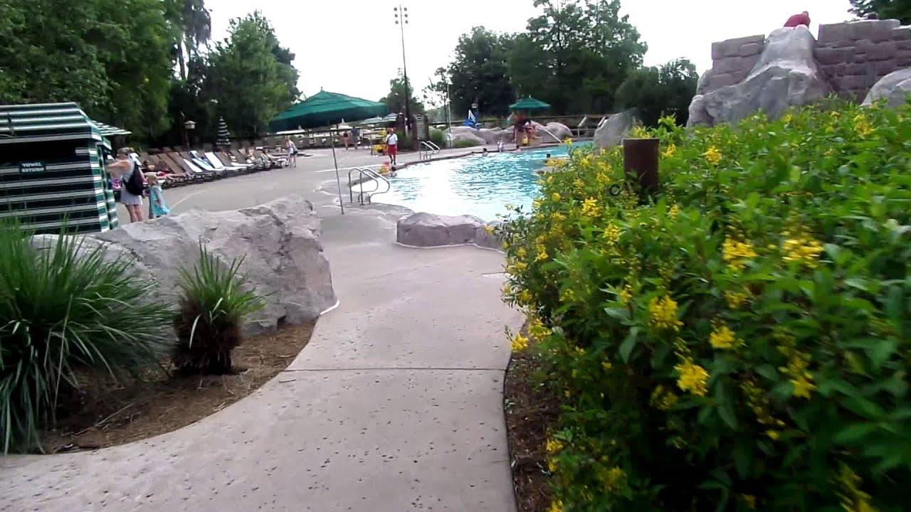 disney 39 s wilderness lodge backyard and pool youtube