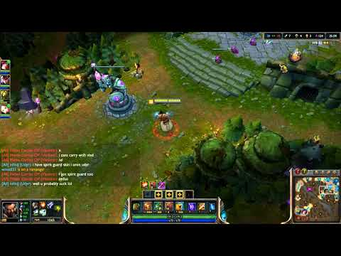 League of Legends Godyr Jungle Full Game