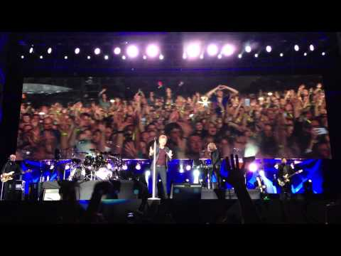 Exclusive Live Footage Livin' On A Prayer Bon Jovi Cape Town
