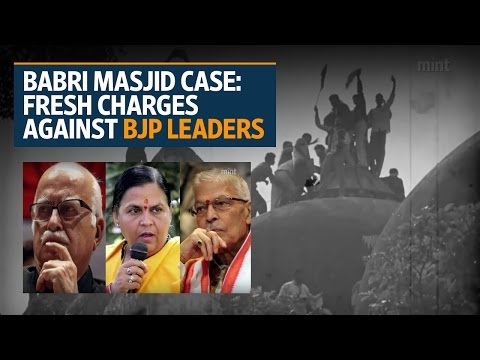 Babri Masjid demolition case: L.K. Advani, M.M. Joshi, Uma Bharti to face trial