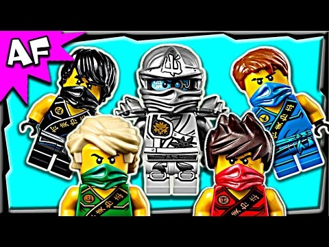 Lego Ninjago 2015 Minifigure Complete Collection Zukin & Tournament Outfits Winter Wave video