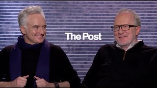 THE POST: Backstage Interview With Tracy Letts & Bradley Whitford