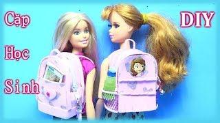 Back To School - Hướng Dẫn Làm Cặp Đi Học Cho Búp Bê (phần 1) chibido.vn