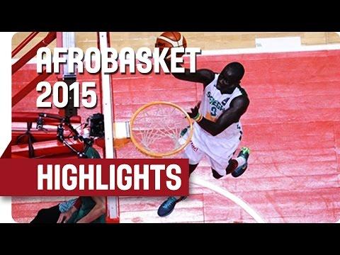 Senegal v Morocco - Game Highlights - Group B - AfroBasket 2015