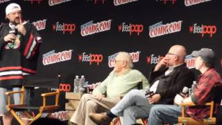Stan Lee panel FULL @ NYCC 2016 (Marvel creators with Kevin Smith)