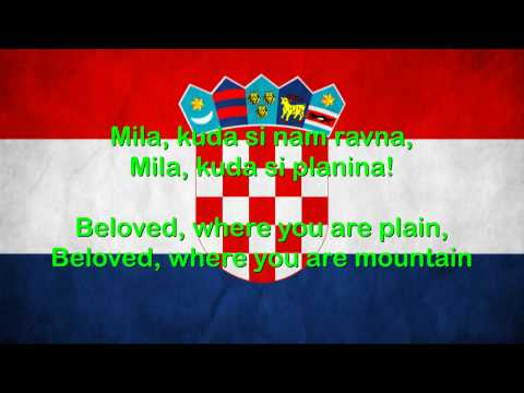 Josip Runjanin - Croatian Anthem