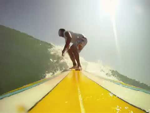 Surf Lessons Florida with the gopro