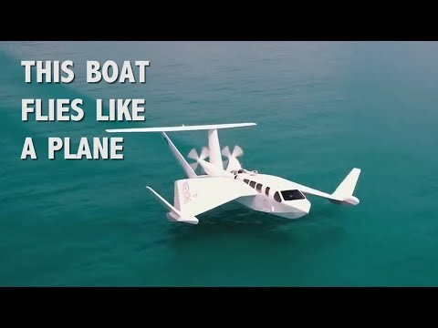 This Boat Flies Like a Plane and Runs on Petroleum | COOLEST GADGETS